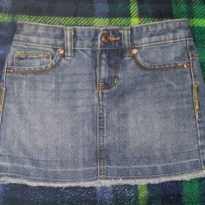 Girl's size 6 Old Navy Denim Skirt